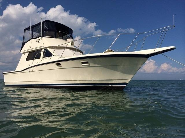 1986 used hatteras 36 convertible fishing boat for sale for Hatteras fishing boat