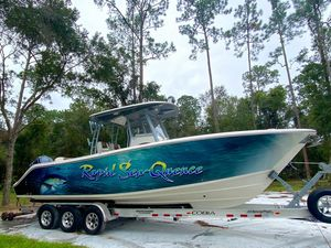 Used Cobia 301 Center Console Fishing Boat For Sale