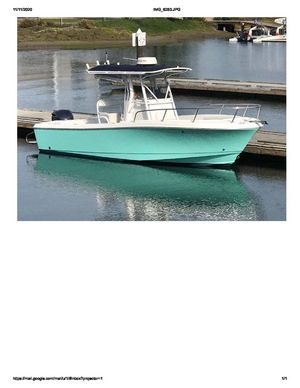 Used Edgewater 228 CC Center Console Fishing Boat For Sale