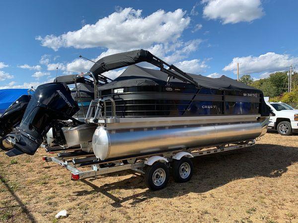 Used Crest II 220 SLC Pontoon Boat For Sale