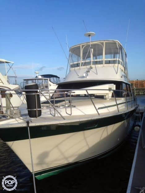 1984 used silverton 37 convertible sports fishing boat for for Freeport fishing boats