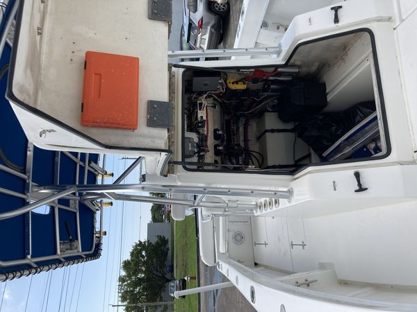 Used Seavee 25 Open Fish Center Console Fishing Boat For Sale