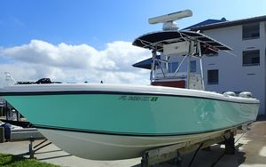 Used Bluewater Sportfishing 2550 Center Console Fishing Boat For Sale