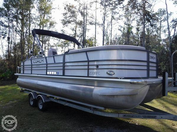 Used Coach 230RFC Pontoon Boat For Sale