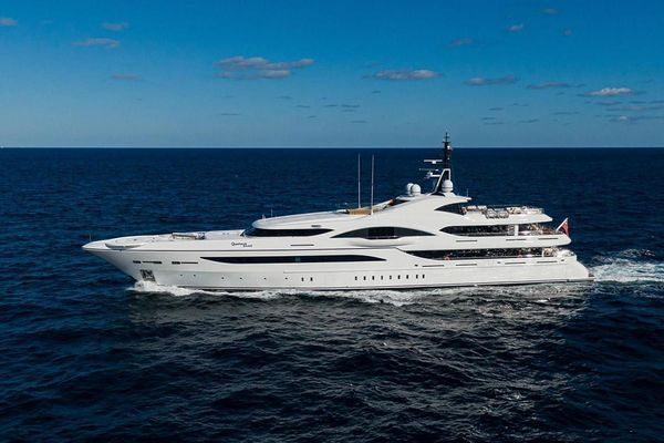 Used Turquoise Motor Yacht For Sale