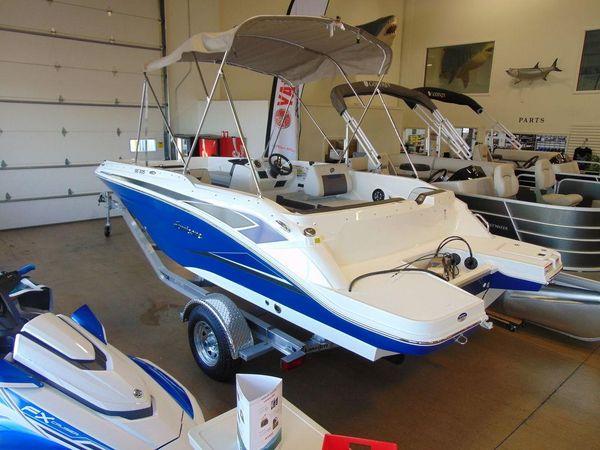 New Hurricane SunDeck Sport 205 OB Pontoon Boat For Sale