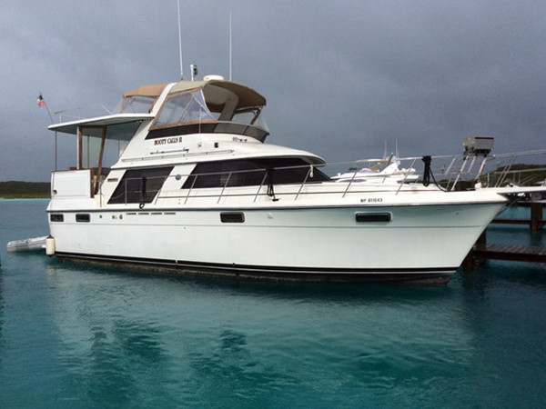 1988 used carver motor yacht for sale 50 000 stuart for Used motor yacht for sale