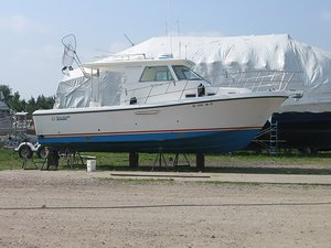 Used True World Marine Offshore Walkaround Sports Fishing Boat For Sale