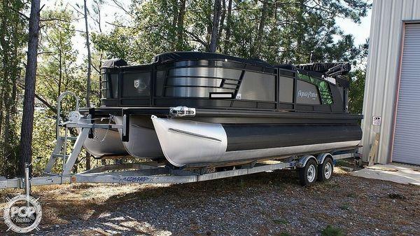 Used Godfrey Pontoon Aqua Patio 235C Pontoon Boat For Sale