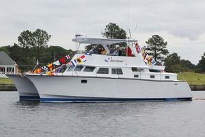 Used Custom B&B Yacht Designs LLC, Catamaran Power Catamaran Boat For Sale