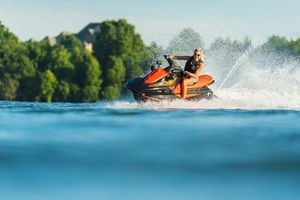 New Yamaha Waverunner EX Personal Watercraft Boat For Sale