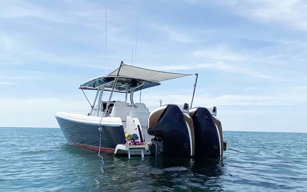 Used Intrepid 375 CC Center Console Fishing Boat For Sale