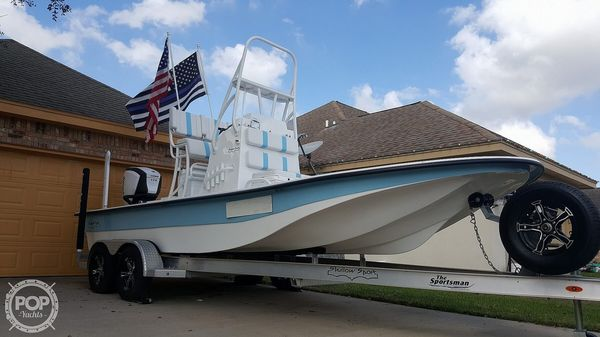Used Shallow Sport 21 Center Console Fishing Boat For Sale