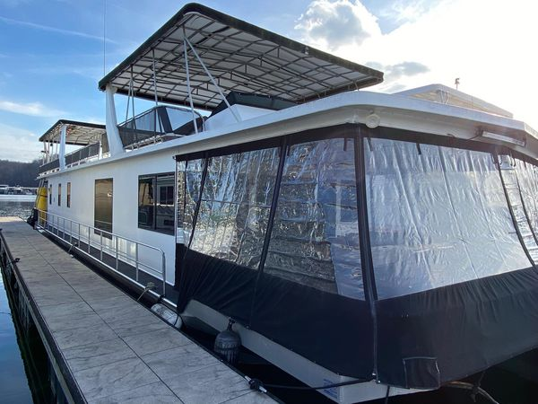 Used Stardust Cruisers Houseboat 18 X 75 House Boat For Sale
