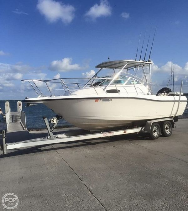 Used Wellcraft Excel Coastal 23 Walkaround Fishing Boat For Sale