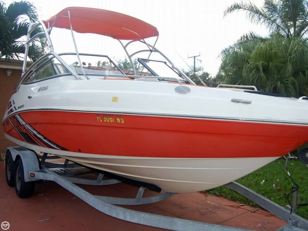 2008 used yamaha 230 ar high output jet boat for sale for Yamaha jet boat for sale florida