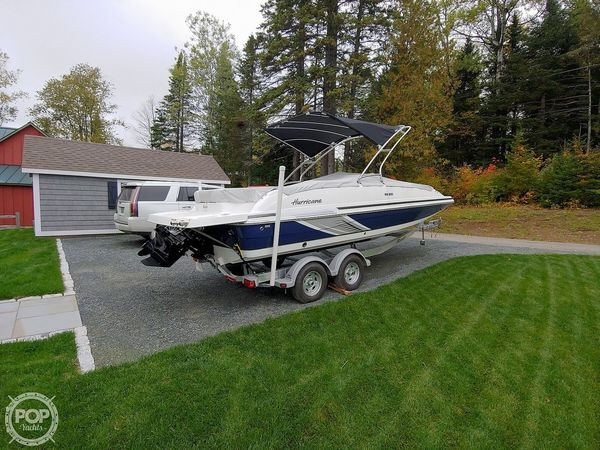 Used Hurricane SS 201 Deck Boat For Sale