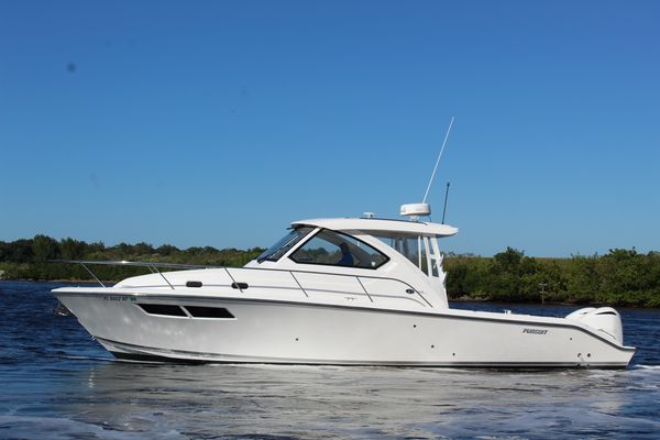 Used Pursuit 355 OS Saltwater Fishing Boat For Sale