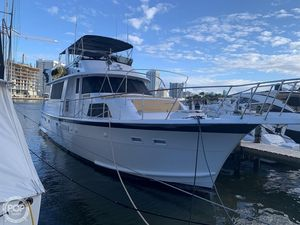 Used Hatteras 58 Motor Yacht Trawler Boat For Sale