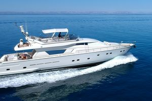 Used Ferretti Yachts 80 Motor Yacht For Sale