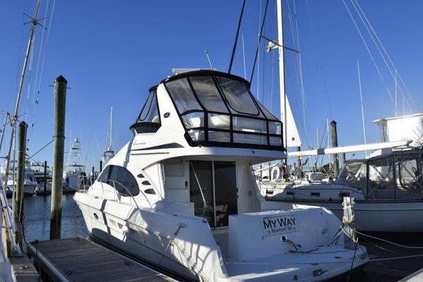 Used Sea Ray 42 Sedan Bridge Express Cruiser Boat For Sale