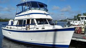 "Used Prairie Boat Works ""36"" Double Cabin Motor Yacht For Sale"