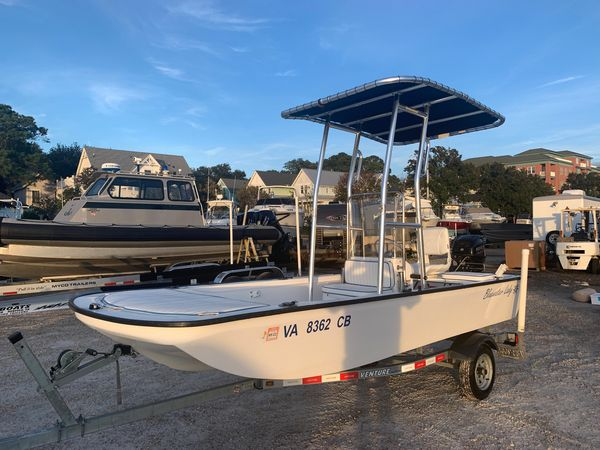Used Nantucket Boat Works Blue Water Lady Skiff Boat For Sale