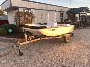 Used Nantucket Boat Works Blue Water Baby Skiff Boat For Sale