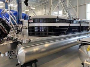 New Crest CL LX 200SLC Pontoon Boat For Sale