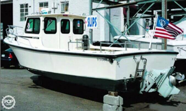 2001 used steiger craft 25 pilothouse boat for sale for Used steiger craft for sale