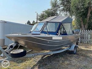 Used Thunder Jet 185 Explorer Aluminum Fishing Boat For Sale
