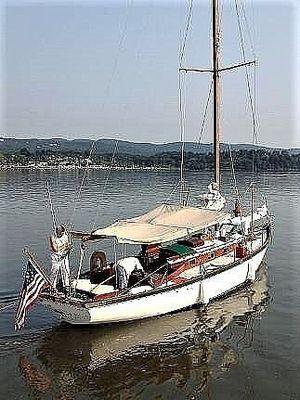 Used Lawley 35 Weekender Sloop Sailboat For Sale