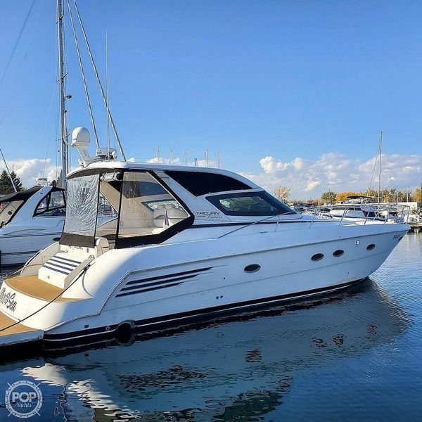 Used Carver 440 Trojan Express Cruiser Boat For Sale