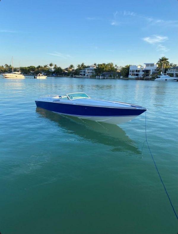 Used Bertram Baron Sports Cruiser Boat For Sale