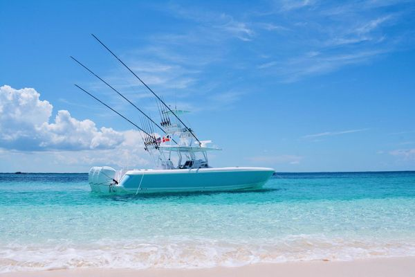 Used Intrepid Center Console Fishing Boat For Sale