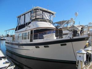 Used Defever 42 Sun Deck Trawler Boat For Sale