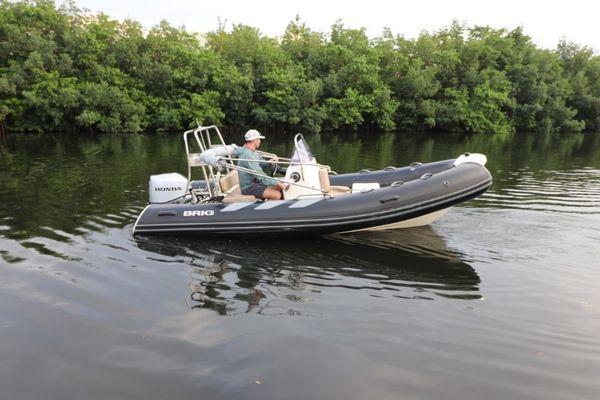 Used Brig Inflatables Navitagor 485 Tender Boat For Sale