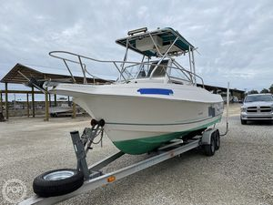 Used Aquasport 225 Explorer Walkaround Fishing Boat For Sale