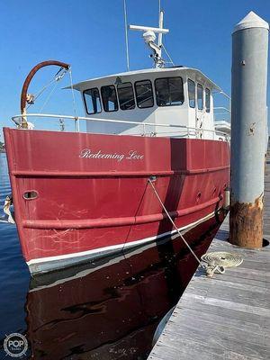 Used Custom Andrew J Marks Trawler Boat For Sale