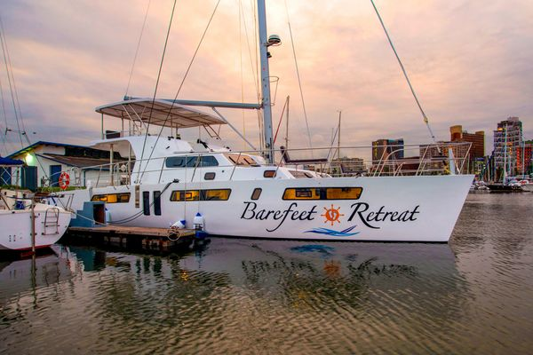 Used Royal Cape 57 Flybridge Catamaran Sailboat For Sale