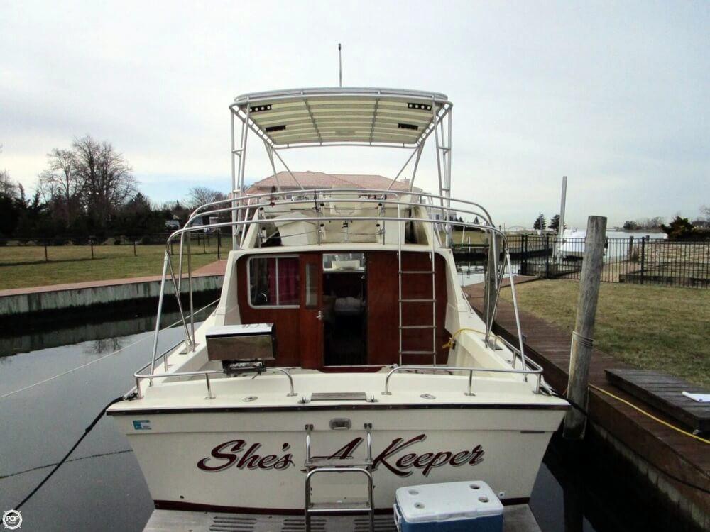 1978 used silverton 33 new yorker walkaround fishing boat for Fishing boats ny