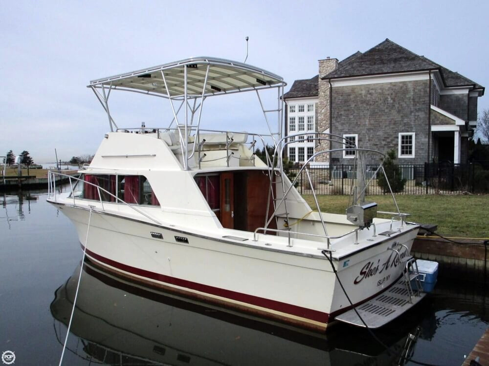 1978 used silverton 33 new yorker walkaround fishing boat for New fishing boats for sale