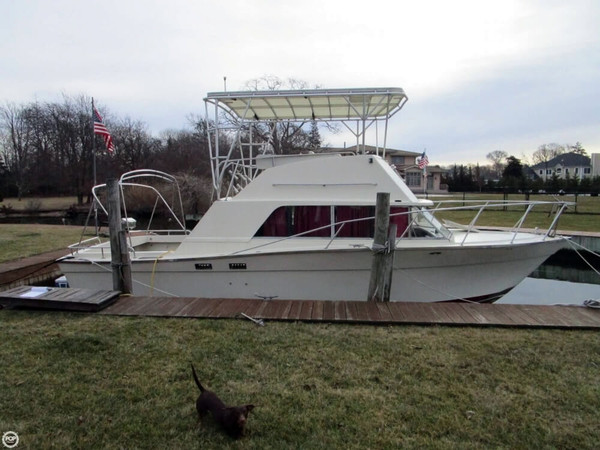 Used Silverton 33 New Yorker Walkaround Fishing Boat For Sale