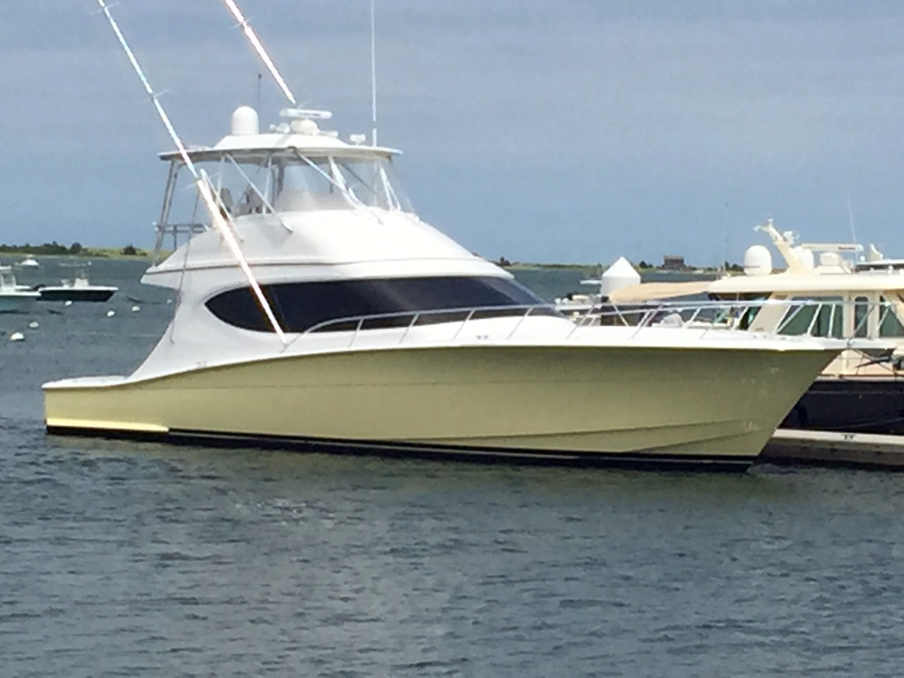 2013 used hatteras gt54 convertible fishing boat for sale for Hatteras fishing boat