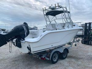 Used Sea Fox 216 Walk Around Saltwater Fishing Boat For Sale