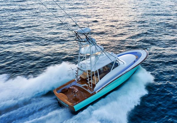 Used Winter Custom Yachts 46 Walkaround Fishing Boat For Sale