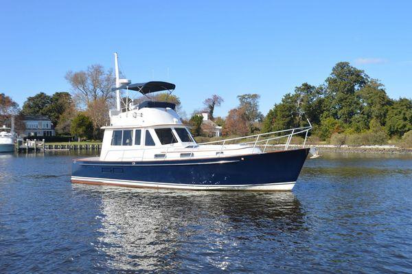 Used Legacy 40 Flybridge Downeast Fishing Boat For Sale