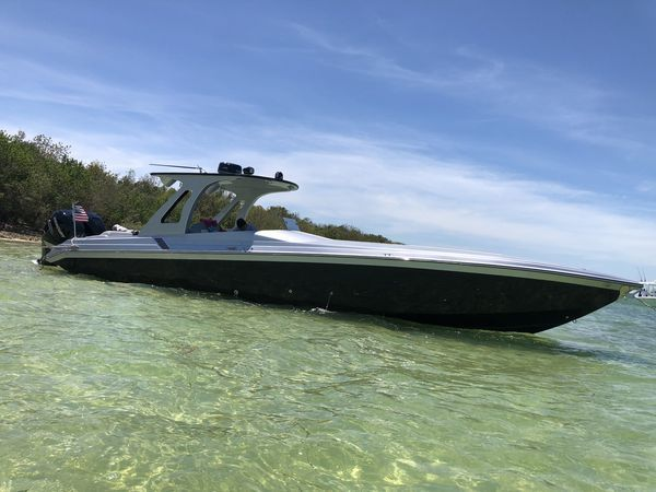 Used Stryker Speed Power Boat Center Console Fishing Boat For Sale