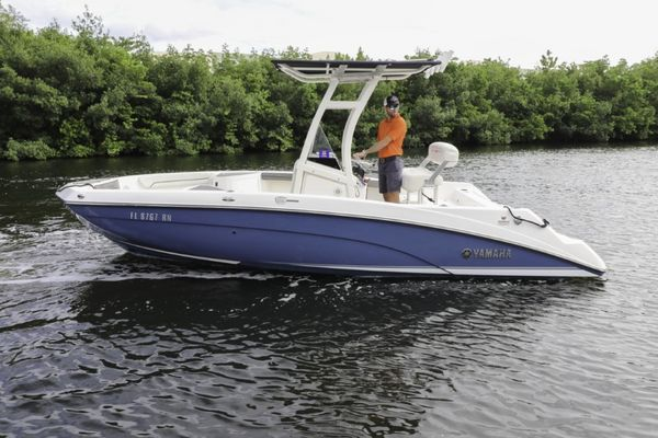 Used Yamaha Boats 210 FSH Sport Jet Boat For Sale