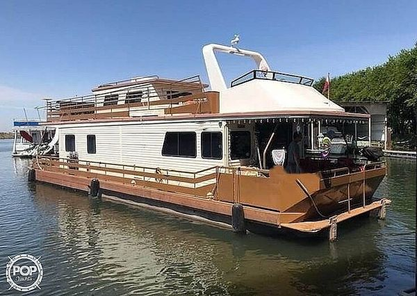 Used Pacific Boats 56 House Boat For Sale